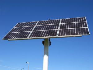 Photovoltaic array - pole-mounted - Emergency Power